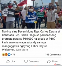 上千菲律宾人上街游行,要求政府每个月给1万披索,结果...