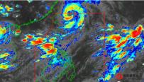 大马尼拉地区雷雨交加多地水浸 马里基纳河水位超15米一...