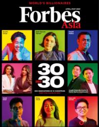 《福布斯》亚洲30大杰青出炉,菲3华人上榜