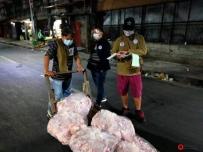 马尼拉市政府查获6000公斤走私进口猪肉